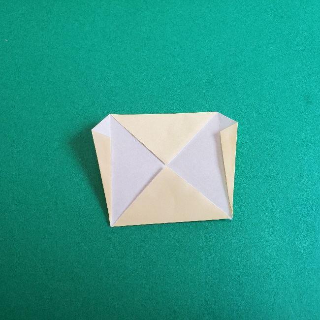 あつまれどうぶつの森の折り紙 簡単ジュンの折り方作り方 (10)