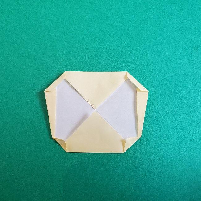 あつまれどうぶつの森の折り紙 簡単ジュンの折り方作り方 (11)