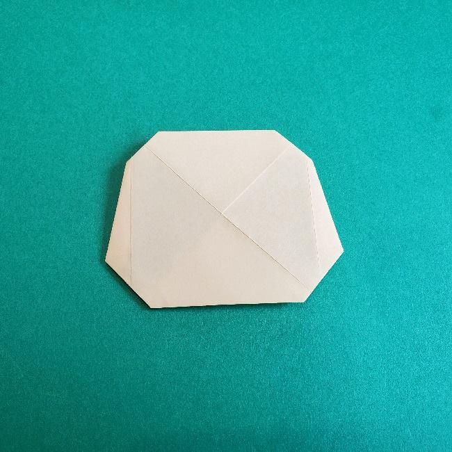 あつまれどうぶつの森の折り紙 簡単ジュンの折り方作り方 (12)