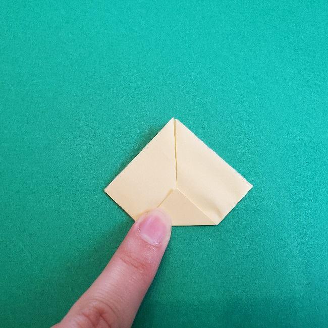 あつまれどうぶつの森の折り紙 簡単ジュンの折り方作り方 (20)