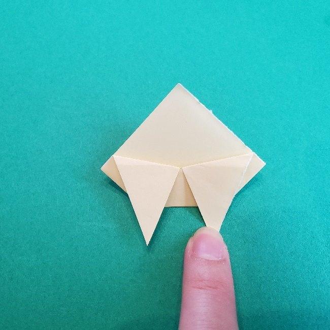 あつまれどうぶつの森の折り紙 簡単ジュンの折り方作り方 (21)