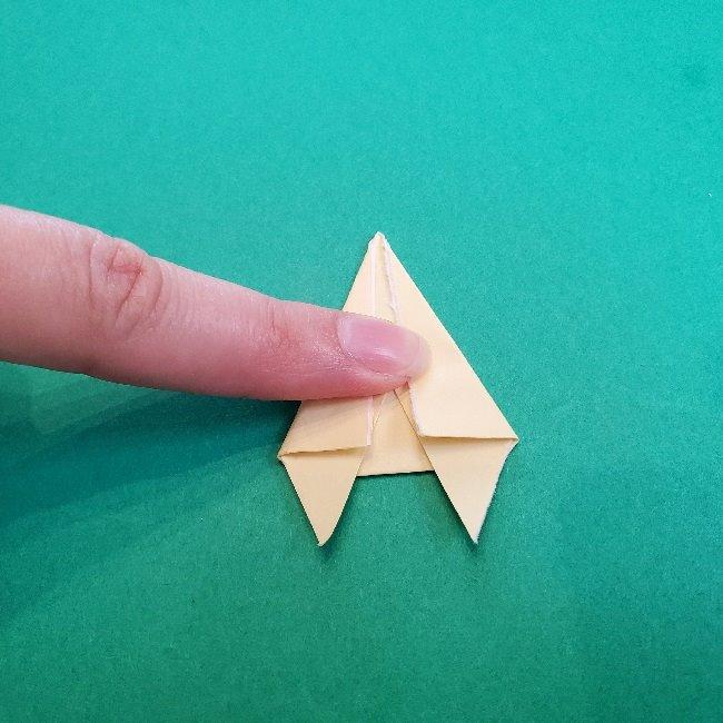 あつまれどうぶつの森の折り紙 簡単ジュンの折り方作り方 (22)