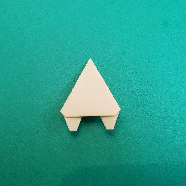 あつまれどうぶつの森の折り紙 簡単ジュンの折り方作り方 (24)