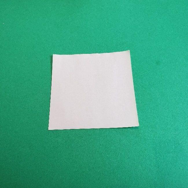 あつまれどうぶつの森の折り紙 簡単ジュンの折り方作り方 (3)