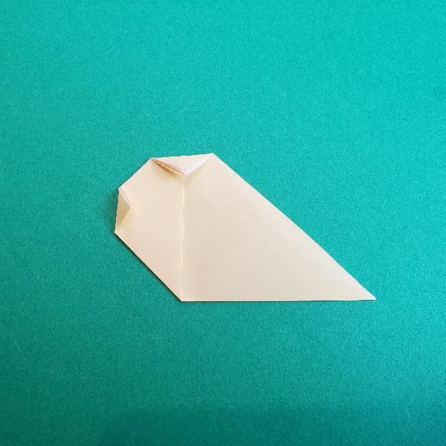 あつまれどうぶつの森の折り紙 簡単ジュンの折り方作り方 (30)
