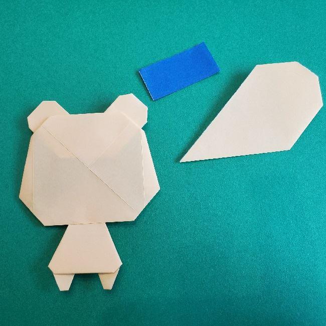 あつまれどうぶつの森の折り紙 簡単ジュンの折り方作り方 (32)