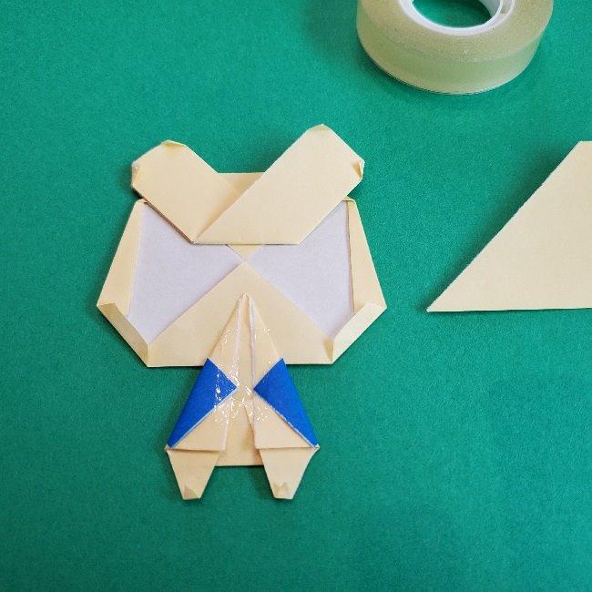 あつまれどうぶつの森の折り紙 簡単ジュンの折り方作り方 (34)