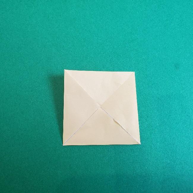 あつまれどうぶつの森の折り紙 簡単ジュンの折り方作り方 (7)