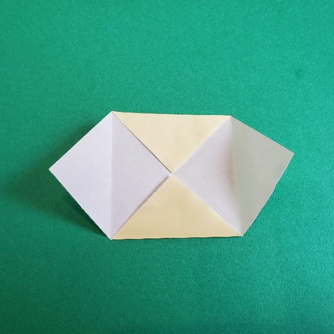 あつまれどうぶつの森の折り紙 簡単ジュンの折り方作り方 (8)