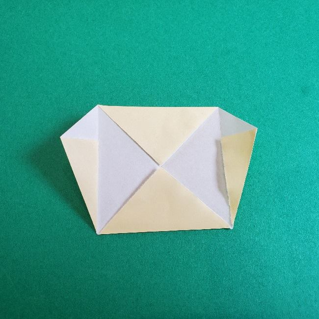 あつまれどうぶつの森の折り紙 簡単ジュンの折り方作り方 (9)