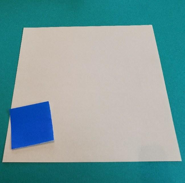 あつ森の折り紙『ジュン』用意するもの (1)