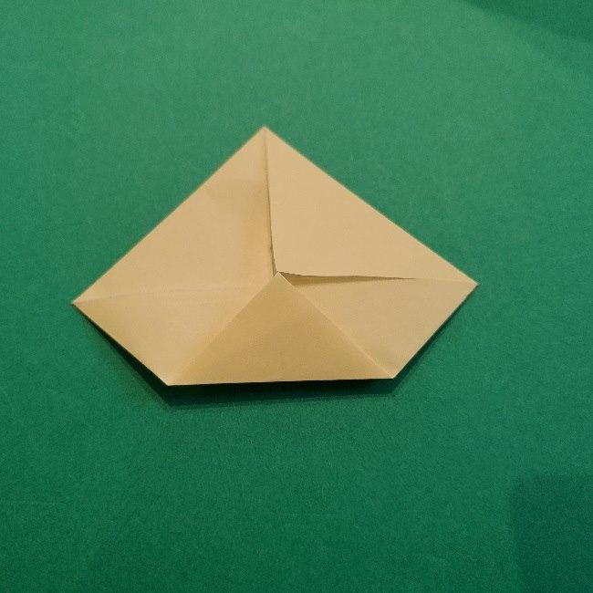 あつ森の折り紙【リリアン】の折り方作り方 (23)