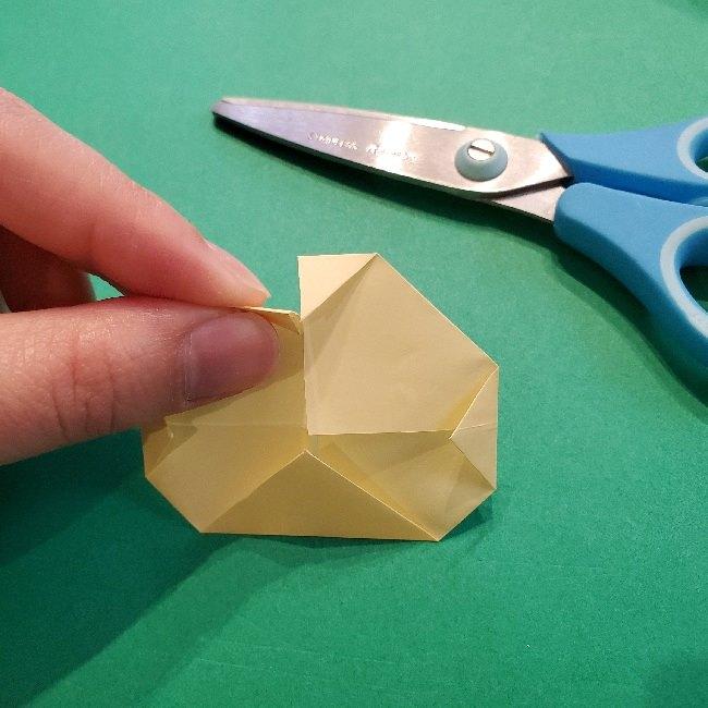 あつ森の折り紙【リリアン】の折り方作り方 (25)