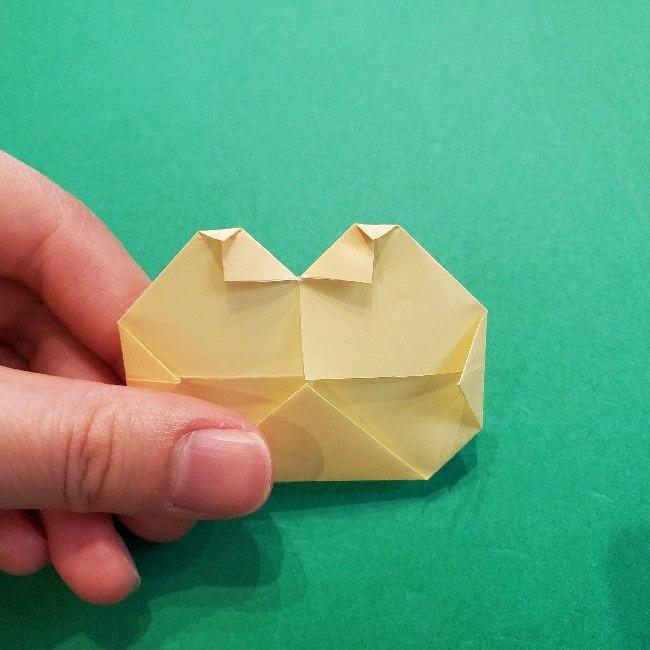 あつ森の折り紙【リリアン】の折り方作り方 (27)