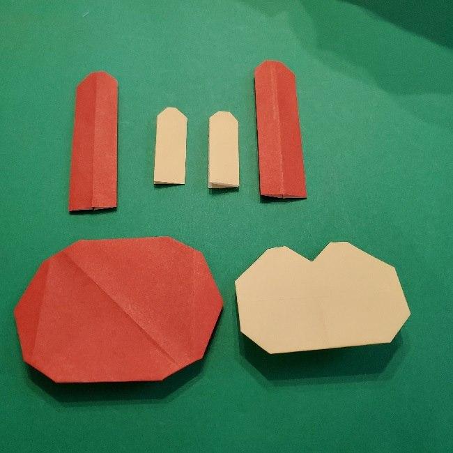 あつ森の折り紙【リリアン】の折り方作り方 (33)
