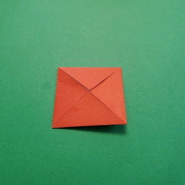 あつ森の折り紙【リリアン】の折り方作り方 (4)