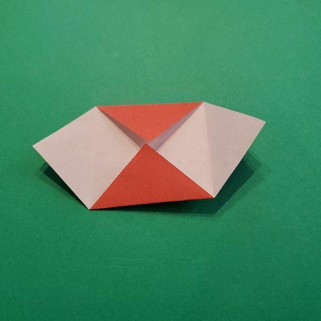 あつ森の折り紙【リリアン】の折り方作り方 (5)