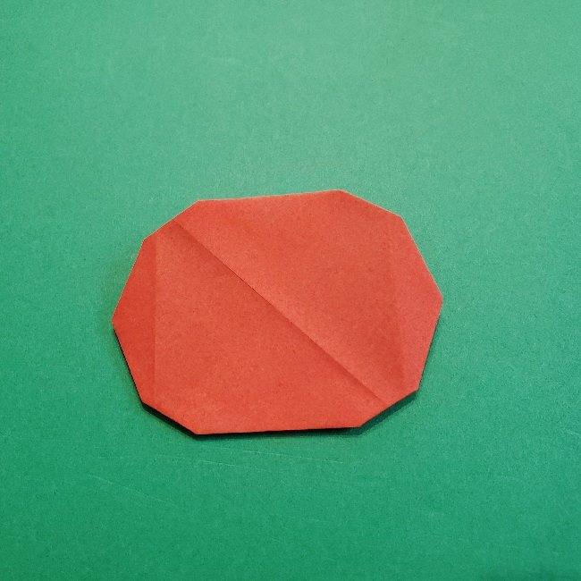 あつ森の折り紙【リリアン】の折り方作り方 (9)