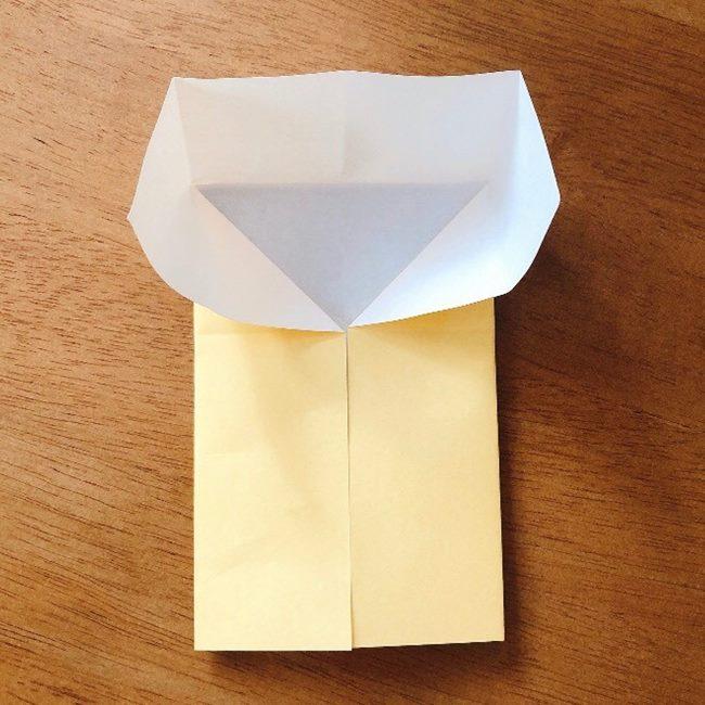 あつ森の折り紙キャラメルの折り方作り方 (6)