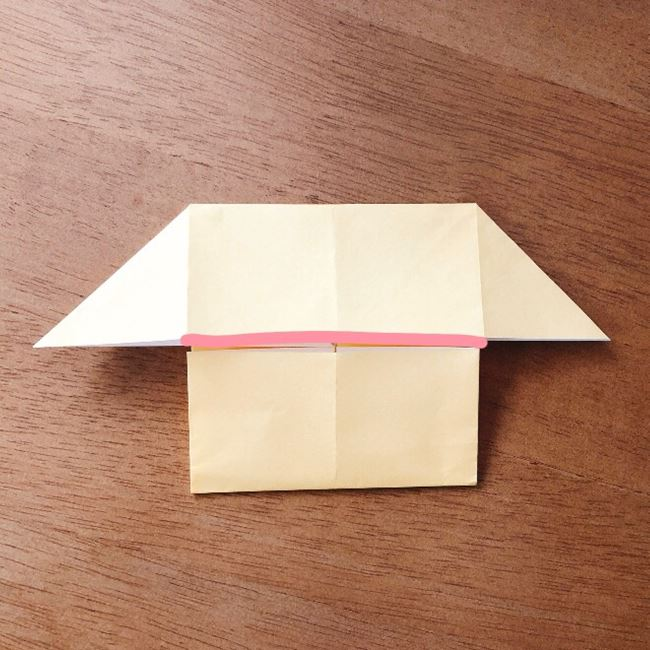 あつ森の折り紙キャラメルの折り方作り方 (8)