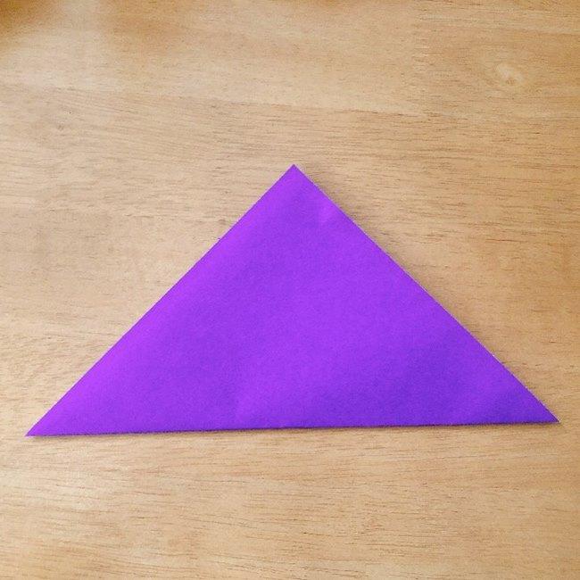 あつ森キャラの折り紙ブーケの折り方作り方 (1)