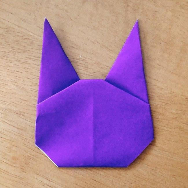 あつ森キャラの折り紙ブーケの折り方作り方 (11)