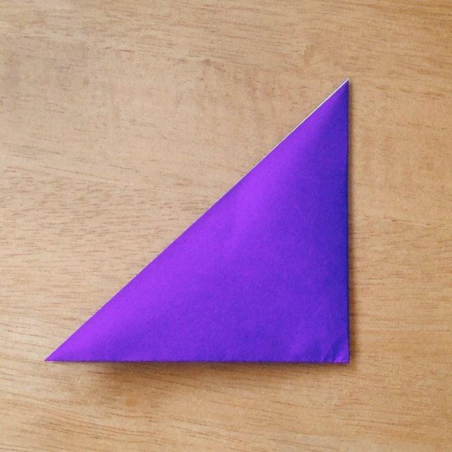 あつ森キャラの折り紙ブーケの折り方作り方 (2)
