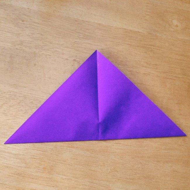 あつ森キャラの折り紙ブーケの折り方作り方 (3)