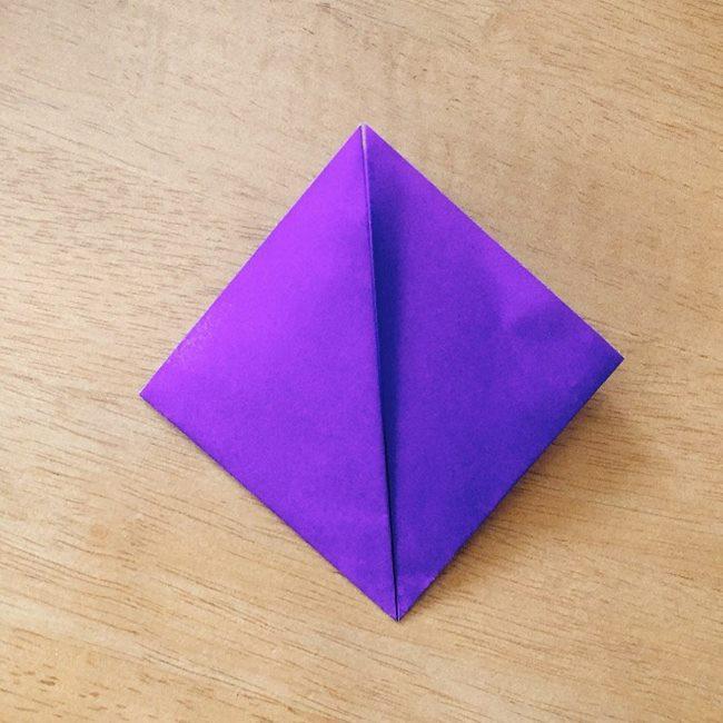 あつ森キャラの折り紙ブーケの折り方作り方 (4)