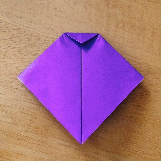 あつ森キャラの折り紙ブーケの折り方作り方 (5)