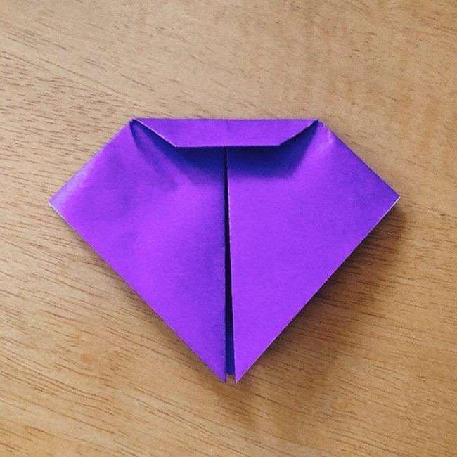 あつ森キャラの折り紙ブーケの折り方作り方 (6)