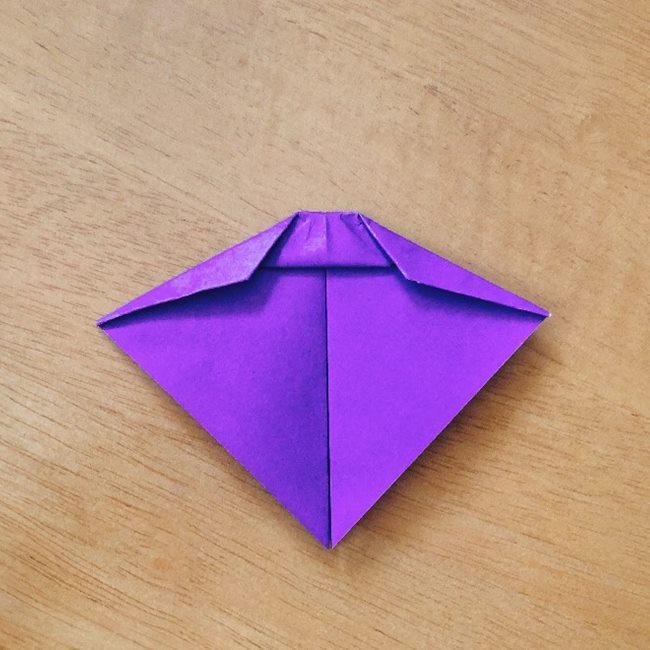 あつ森キャラの折り紙ブーケの折り方作り方 (7)