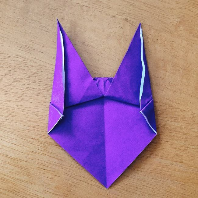 あつ森キャラの折り紙ブーケの折り方作り方 (9)