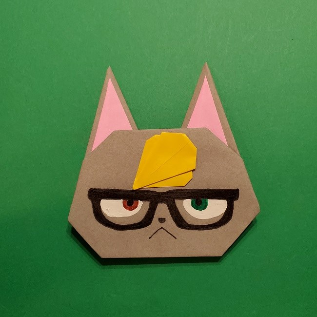 あつ森ジャックの折り紙の作り方★どうぶつの森キャラクターの折り方を紹介!