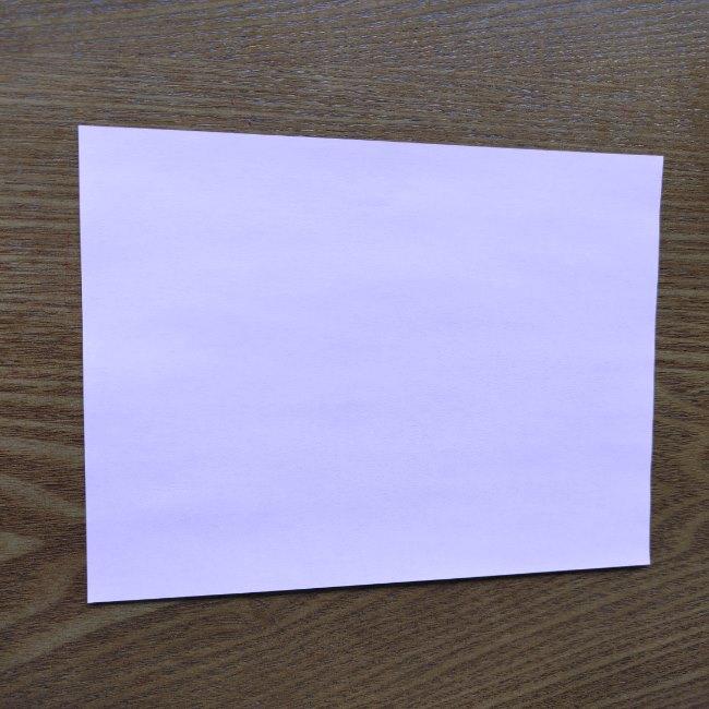 お雛様の箸袋の折り紙★折り方 作り方 (1)