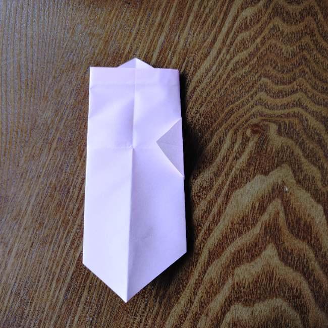 お雛様の箸袋の折り紙★折り方 作り方 (11)