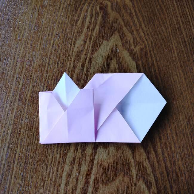 お雛様の箸袋の折り紙★折り方 作り方 (14)