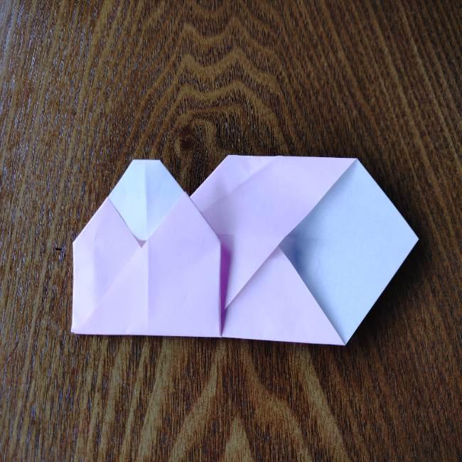 お雛様の箸袋の折り紙★折り方 作り方 (15)