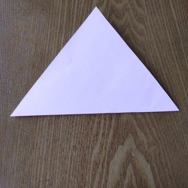 お雛様の箸袋の折り紙★折り方 作り方 (2)