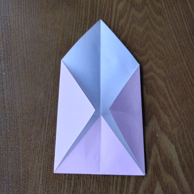 お雛様の箸袋の折り紙★折り方 作り方 (4)
