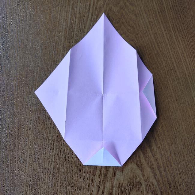 お雛様の箸袋の折り紙★折り方 作り方 (6)