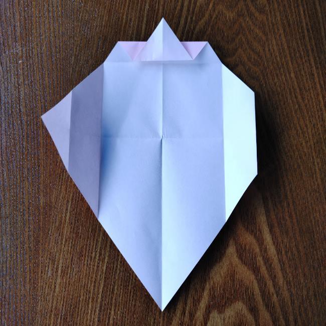 お雛様の箸袋の折り紙★折り方 作り方 (9)