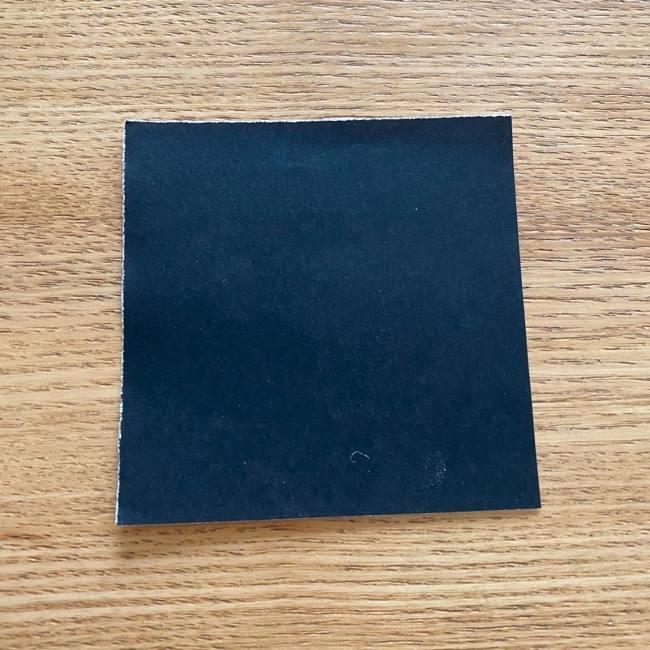 きめつのやいばの折り紙『かすがいがらす』折り方作り方 (1)