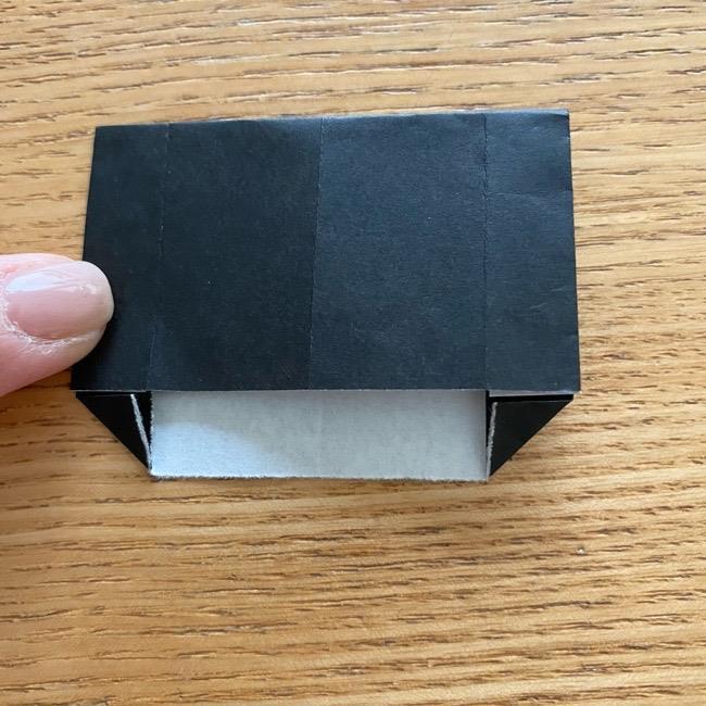 きめつのやいばの折り紙『かすがいがらす』折り方作り方 (11)
