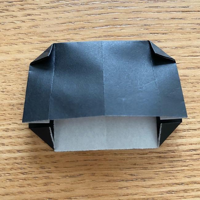 きめつのやいばの折り紙『かすがいがらす』折り方作り方 (12)
