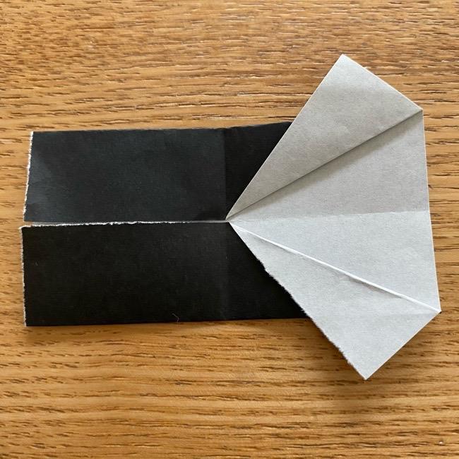 きめつのやいばの折り紙『かすがいがらす』折り方作り方 (20)