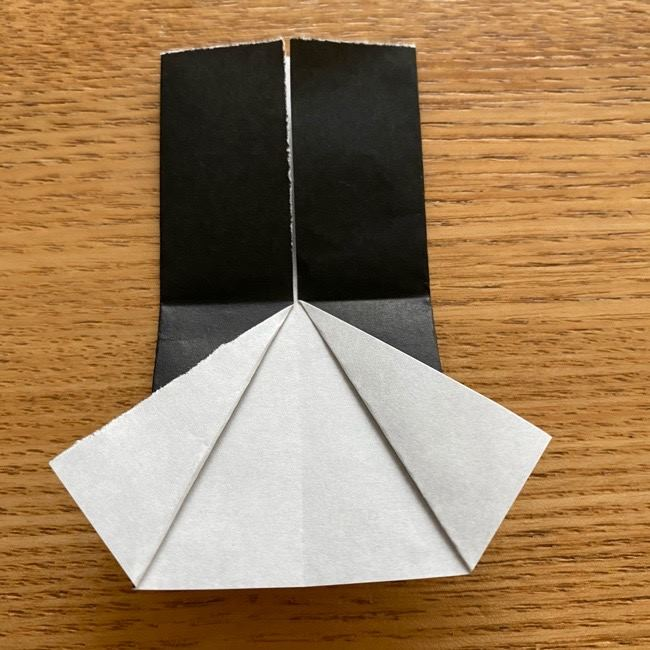 きめつのやいばの折り紙『かすがいがらす』折り方作り方 (21)