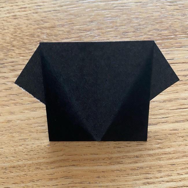 きめつのやいばの折り紙『かすがいがらす』折り方作り方 (22)
