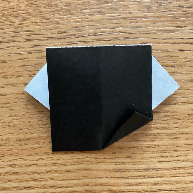きめつのやいばの折り紙『かすがいがらす』折り方作り方 (24)