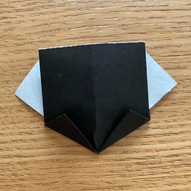 きめつのやいばの折り紙『かすがいがらす』折り方作り方 (25)